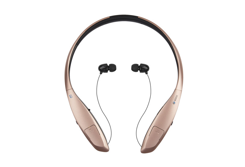 HB-900C Bluetooth Headphones Retractable Earbuds Neckband Wireless Headset