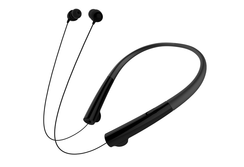 HB-905 Retractable Neckband Stylish Wireless Music Stereo Sport Bluetooth Earphones