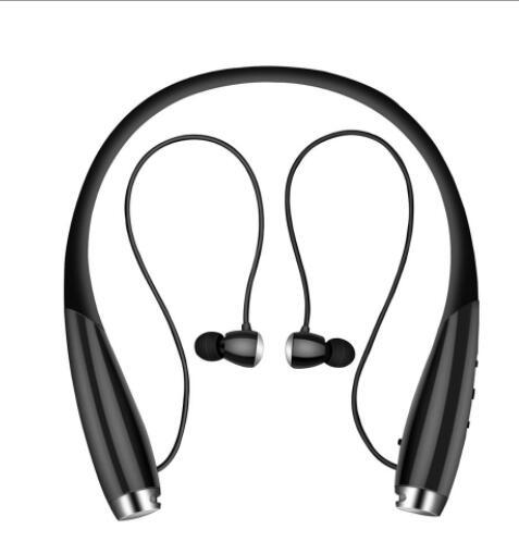 Magnetic Hands Free audifonos bluetooth Headset Neckband Wireless Earbus Sport Sweatproof bluetooth earphone