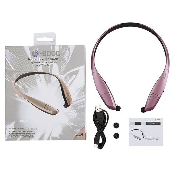 New arrival Consumer electronics Blue tooth range extender HB-900C wireless stereo headset