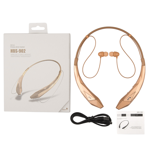 Hot Selling OEM HB-902 wireless stereo bluetooth headphone bluetooth headset